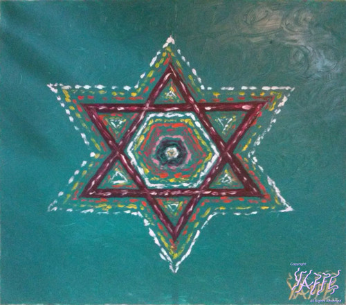 Star of David by Menachem Yaffe