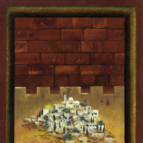 Walls of Jerusalem by Victor Shrem