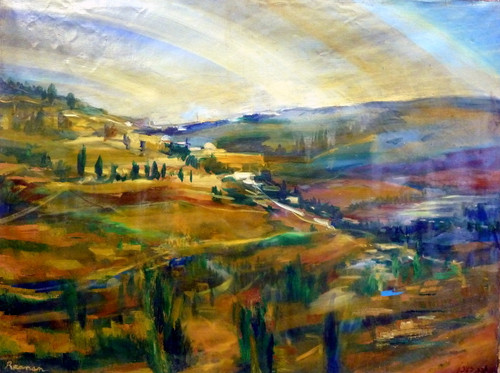 Jerusalem Morning Fine Art Print by Yoram Raanan