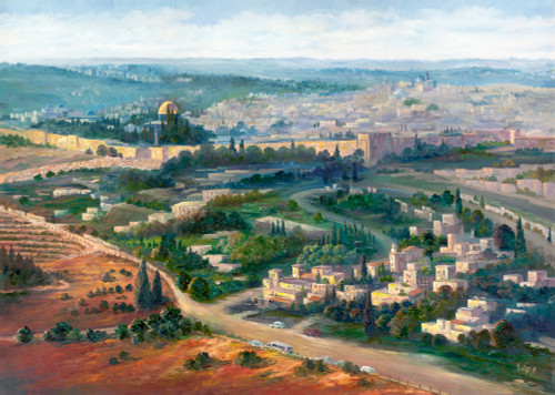 Jerusalem Original by Menucha Yankelevitch