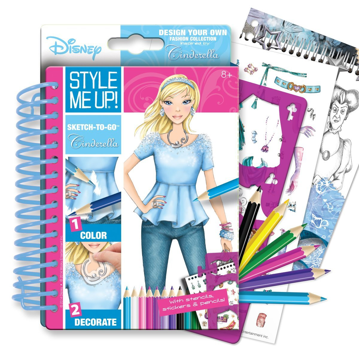 Beauty Accessories Sketchbook Style Me Up Cinderella 39 S Fashion 2092 Hobby Hunters