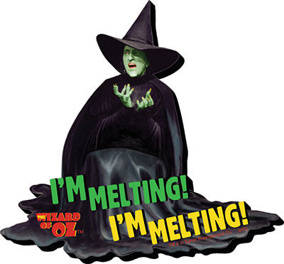 Magnet Wizard Of Oz Witch Melting 95326 Hobby Hunters