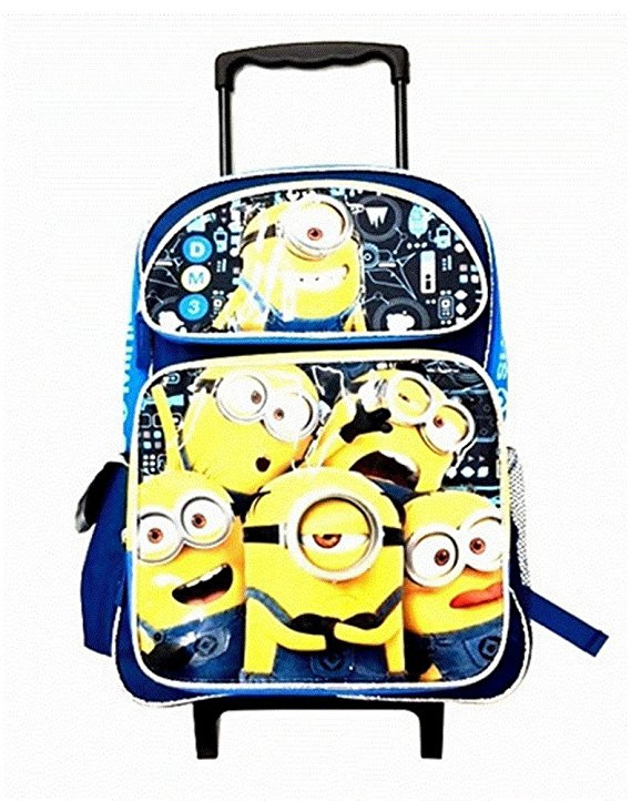 Small Rolling Backpack Despicable Me Minions 3 Group 12