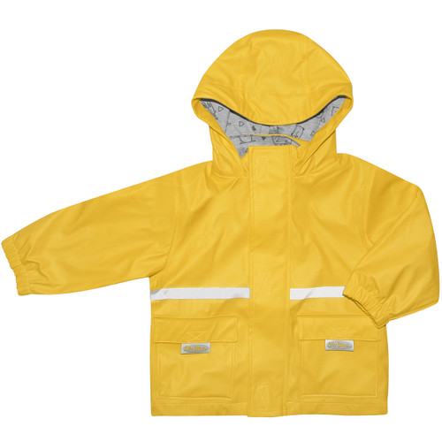 Yellow Waterproof Jacket - Silly Billyz