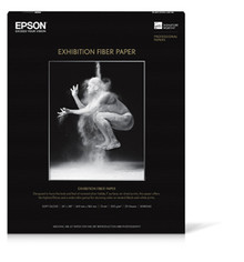 "Epson Exhibition Fiber Paper S045188 17"" X 50' Roll"