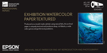 "Exhibition Watercolor Paper Textured 17"" x 22"" 25 Sheets"