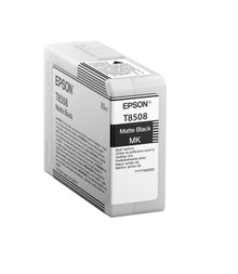 Epson SureColor P800 UltraChrome® HD Ink Cartridge 80ml - Matte Black