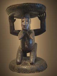 A Fine Caryatid/Stool, Dogon Peoples, Mali