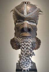 Royal Helmet Mask, Kuba Peoples, D.R. Congo