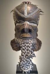 Royal Helmet Mask, Kuba Peoples, D.R. Congo