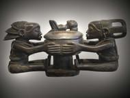 Luba Medicine Pot, Luba Peoples, D.R. Congo