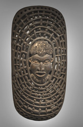 Royal Shield, Bamileke Peoples, Cameroon, Early 20th century