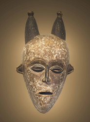 Commemorative Mask of Queen Mother,Luba Peoples, D.R. Congo