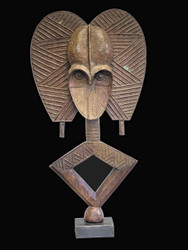 A Superb Reliquary Figure, Kota Peoples, Gabon
