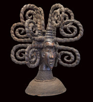Janus Headcrest, Ejagham (Ekoi), Nigeria/ Cameroon (Cross River)