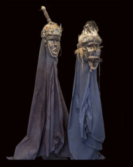 Fine Ceremonial Headdresses ( Male and Female), Toma Peoples, Guinea