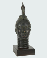 Bronze Queen Mother Head