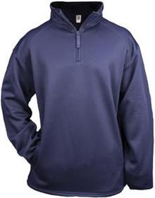 Quarter Zip Dri-fit/Fleece Jacket Youth