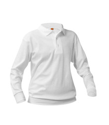 OCS Unisex Youth L/S Pique Polo