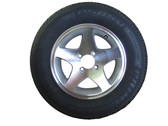 SpaDolly Wheel and Tire Aluminum