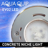 Aqua Quip EVO2 Multi Colour Concrete Pool Lights (2 pack)