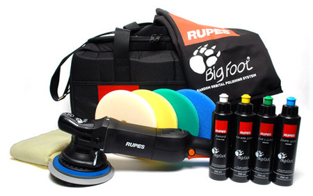 Rupes LHR 21ES Big Foot Random Orbital Polisher Deluxe Kit