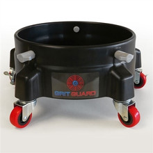 Grit Guard 5 Caster Bucket Dolly - Black *New*