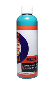 "CarPro Ech2O FAQ:   Can I use Ech2o in the sun as a waterless or detail spray?   Absolutely, it works very well even in direct sun.   Can I use Ech2o as a rinse-less wash?    Yes! Our Rinse-less wash testers found Ech2o to perform better than the products they have used until now.   Is Ech2o a cleaner?    Yes, it is a waterless wash that's tough on dirt but gentle on the vehicle.  It gently lifts dirt and contaminants from the surface.  Does Ech2o have protection in it?   Ech2o does have some Sio2 (quartz) protection in it BUT its main focus is on safely cleaning and glossing a variety of surfaces.   Pro Tip: Mix a couple ounces (1oz - 4oz) of CarPro Reload with your next RTU bottle of Ech2O for added protection!  Can I use Ech2o as a wipe down before coating?  No, the organic lubricants in Ech2o are GREAT for aiding in safe quick detailing but lubricants can hinder the bonding of CQuartz to the surface.  For that purpose, stick with Eraser for a wipe-down solution.  That is what Eraser was designed for.     Can I use Ech2o for wiping down a car that I just coated?    That depends on your definition of ""Just"".  Ech2o has very effective cleaners in it so we do NOT want to introduce a cleaning solution to a ceramic coating that is STILL undergoing a very complex curing process. IF you mean just before or after delivery / wiping off dust then yes.  In that case dilute Ech2O 1:25 and gently remove any dust.     How do I use it?     As a high QD dilution – Spray and wipe.      For waterless - take a look at the product videos tab.     Why do you have a range of dilutions mentioned?  There are a lot of variables in detailing.  Level of dust and dirt, temperature, humidity, preference, technique, and existing surface protection are just a few of the variables.  In general we would recommend you start with 1:15 for waterless wash and 1:25 for Quick Detailer.  Can I use Ech2O on Chrome?  Oh Yes!  It leaves the chrome incredibly clean, slick, and glossy!  Can I use Ech2O on Glass?  Yes, it works excellent!  Can I use Ech2O on interiors?  You can use Ech2O on some interior surfaces but we would recommend using CarPro Inside for most interior surfaces!"
