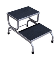 UMF SS8370 Double Step Stainless Steel Foot Stool