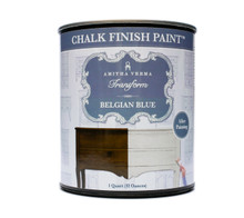 Belgian Blue Chalk Finish Paint