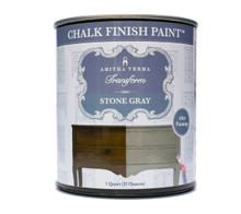 Stone Gray Chalk Finish Paint