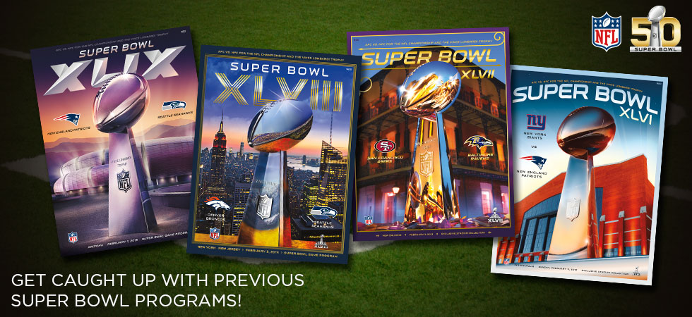 Catch up with previous Super Bowl programs!