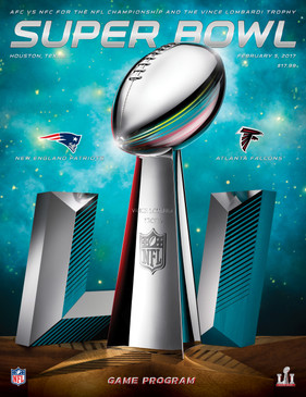 OFFICIAL SUPER BOWL 51 STADIUM PROGRAM (2017)