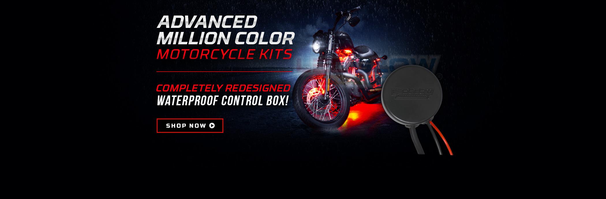 Advanced Million Color SMD Motorycle Light Kit