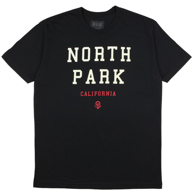 Overload - T-Shirt - North Park Cali - Black