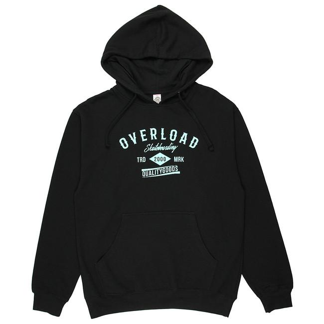 Overload - Sweatshirt - TRD MRK - Black/Tiffany