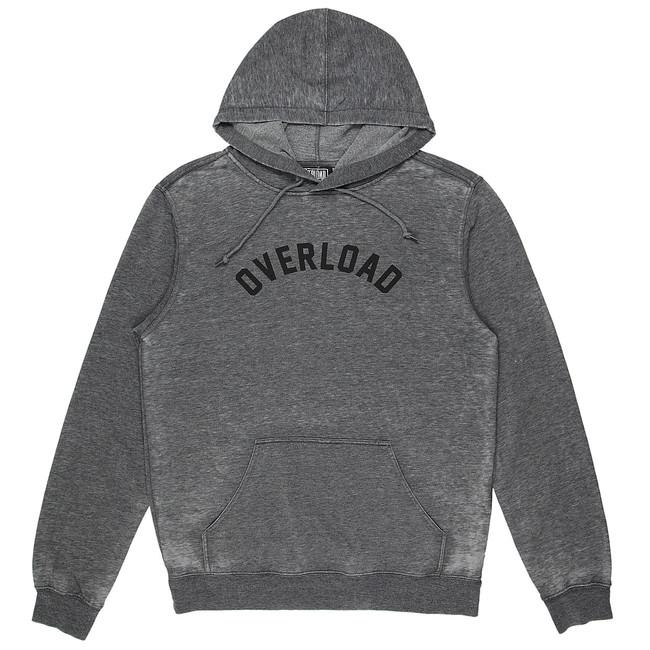 Overload - Sweatshirt - Arc Vintage Hoody - Black