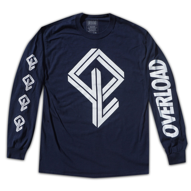 Overload - T-Shirt - BMX Bandit L/S - Navy