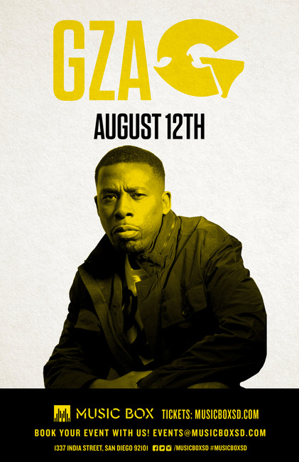 Win tickets to see GZA at the Music Box on August 12