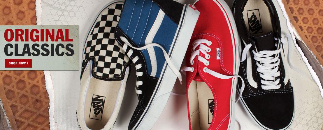 Vans Shoes and Footwear