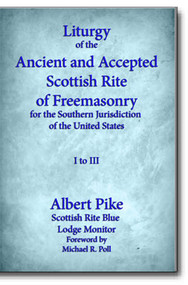 This is a photographic reproduction of Albert Pike's highly educational 1878 Liturgy (monitor) of the Scottish Rite Blue Lodges. For anyone with any interest in the AASR, this is a most valuable aid and tool for the study of the Scottish Rite.