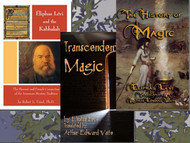 Eliphas Levi and the Kabbalah by Robert L. Uzzel, Transcendental Magic by Eliphas Levi Translated by Arthur Edward Waite, and The History of Magic by Eliphas Levi Translated by Arthur Edward Waite