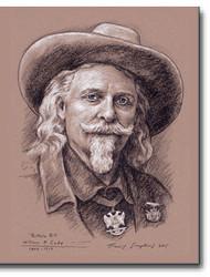 """""""Buffalo Bill,"""" William F. Cody. 1846-1917 Freemason, Wild West Showman by Travis Simpkins"""