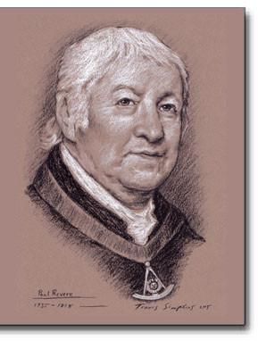Paul Revere (1735-1818) Patriot, Freemason by Travis Simpkins