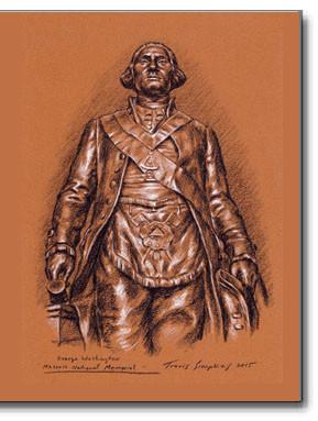 George Washington – The George Washington Masonic National Memorial statue 2015 by Travis Simpkins