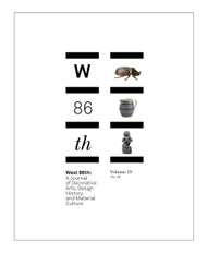 West 86th: Volume 19, No. 01 (Spring–Summer 2012)