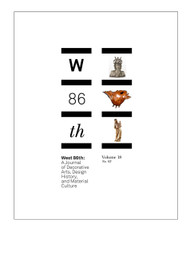 West 86th: Volume 18, No. 02 (Fall–Winter 2011)