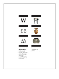West 86th: Volume 19, No. 02 (Fall–Winter 2012)