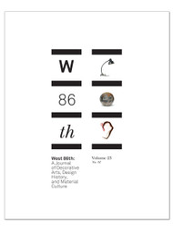 West 86th: Volume 23, No. 01 (Spring–Summer 2016)