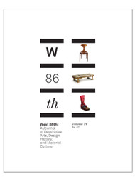 West 86th: Volume 24, No. 2 (Fall–Winter 2017)